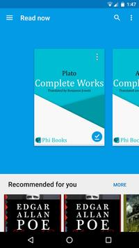 Phi - Philosophy Books apk screenshot