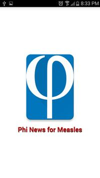 Phi News for Measles Outbreak poster