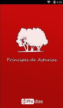 Principes de Asturias (beta) Plakat