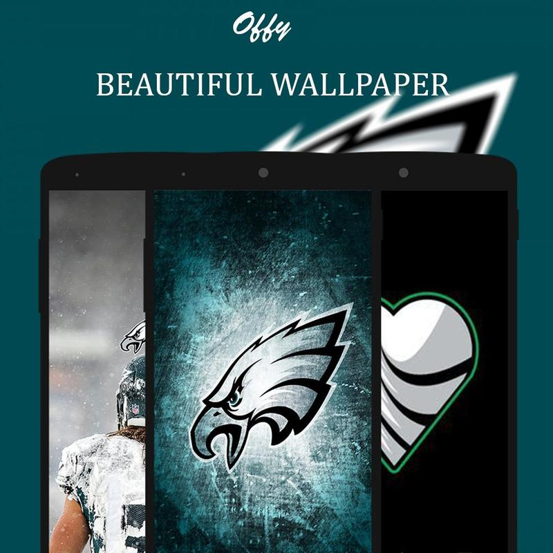 ... Offy - HD Wallpapers For Philadelphia Eagles स्क्रीनशॉट 2