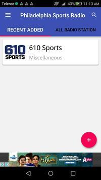Philadelphia Sports Radio apk screenshot