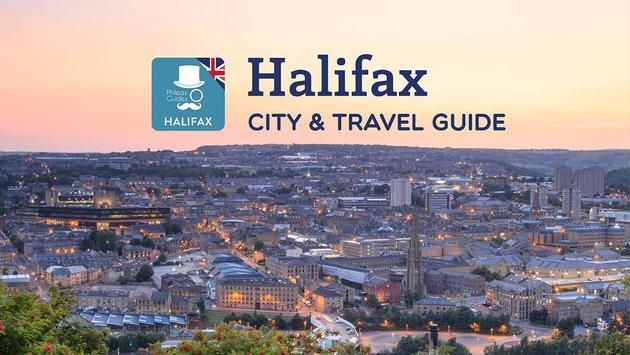 Halifax City Guide, UK poster