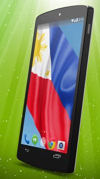 Philippine Flag Live Wallpaper apk screenshot