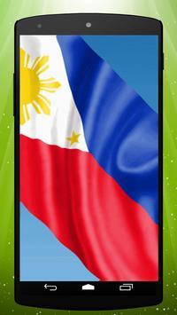 Philippine Flag Live Wallpaper poster