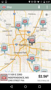 Phillips 66 Gas Station Finder screenshot 3