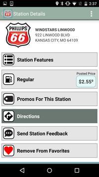 Phillips 66 Gas Station Finder screenshot 4