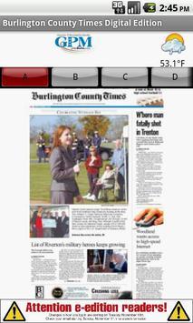 Burlington County Times apk screenshot