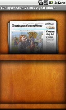 Burlington County Times poster