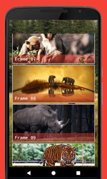 Wild Animal Photo Frame screenshot 2