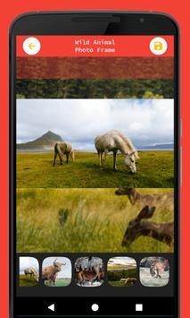 Wild Animal Photo Frame screenshot 4