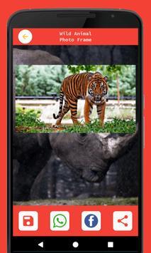 Wild Animal Photo Frame screenshot 6