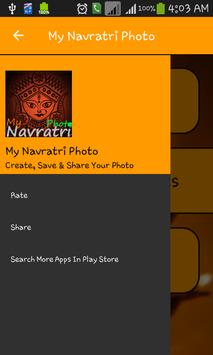 My Navratri Photo screenshot 1