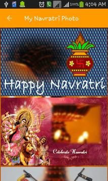 My Navratri Photo screenshot 4