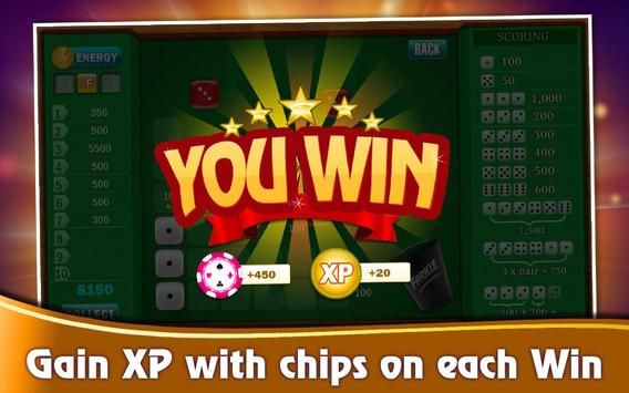 Farkle Casino - Free Dice Game screenshot 4