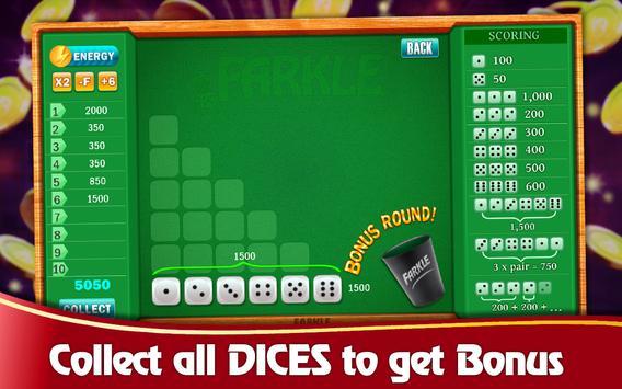 Farkle Casino - Free Dice Game screenshot 5
