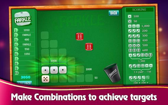 Farkle Casino - Free Dice Game screenshot 6