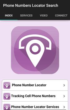Phone Numbers Locator Search poster