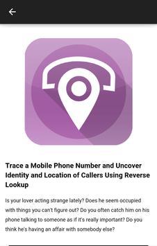 Phone Numbers Locator Search screenshot 2