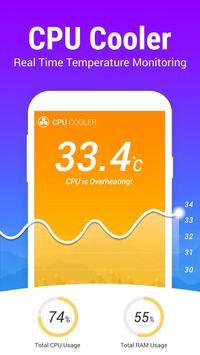 Phone Cooler - CPU Booster poster