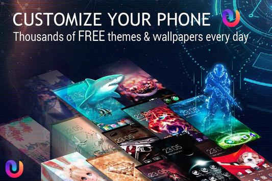 U Launcher 3D PRO – Free Themes , Cool Wallpaper screenshot 3
