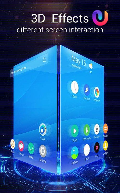 U Launcher 3D PRO – Free Themes , Cool Wallpaper for Android - APK