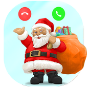 North Pole Santa Clause Call icon