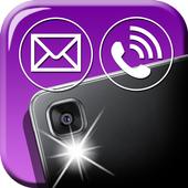 Phone Call Flash Led Light App icon