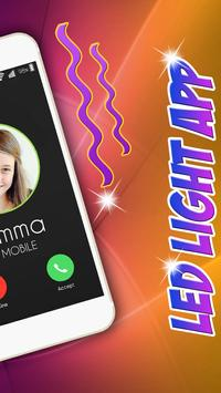 Phone Call Flash Led Light App apk screenshot