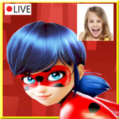 Instant Video Call LadyBug Live 2018 icon