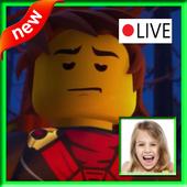 Instant Video Call lego Ninjago Live 2018 icon