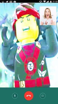 Instant Video Call lego Ninjago Live 2018 screenshot 4