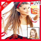 Instant Video Call Ariana Grande live 2018 icon