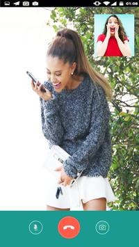 Instant Video Call Ariana Grande live 2018 screenshot 1