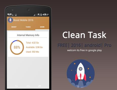Mobile Boost ( Cleaning Phone) apk screenshot