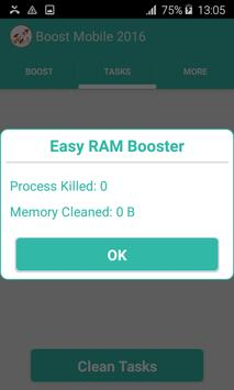 Mobile Boost - Cleaning Phone screenshot 3