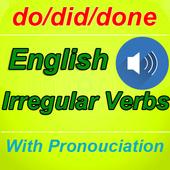 English Irregular Verbs with Pronounciation icon