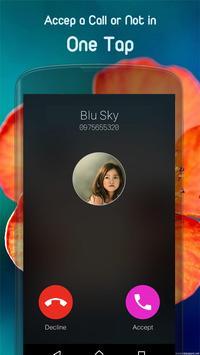 Contact Phonebook style OS 10 screenshot 2