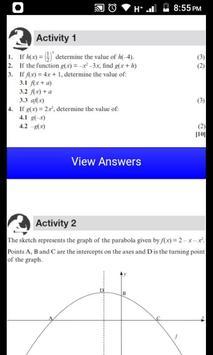 Grade 12 Mathematics Mobile Application 截图 16