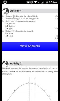 Grade 12 Mathematics Mobile Application screenshot 2