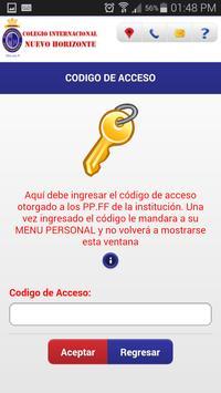 Colegio Nuevo Horizonte apk screenshot