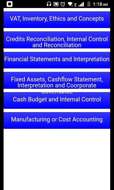 Grade 12 Accounting Mobile Application for Android - APK