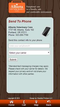 Alberta Veterinary Care screenshot 1