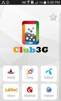 Club3G Packages & Wifi Devices poster