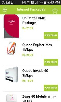 Club3G Packages & Wifi Devices apk screenshot