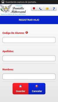 Colegio Danielle Mitterrand apk screenshot