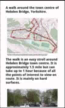 POI4 Hebden Bridge Walk Yorks poster