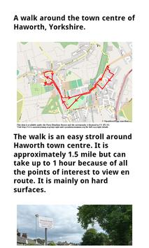 POI5 Haworth Walk Yorkshire poster