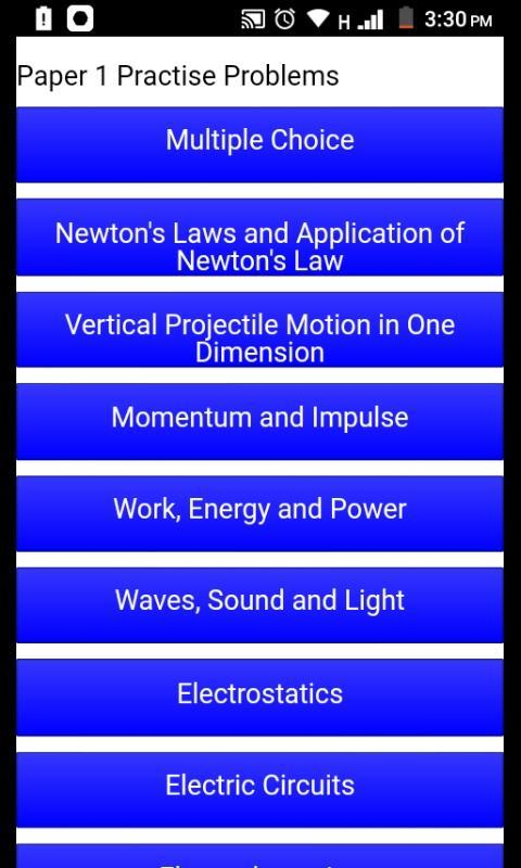 Grade 12 Physical Sciences Mobile Application for Android - APK Download
