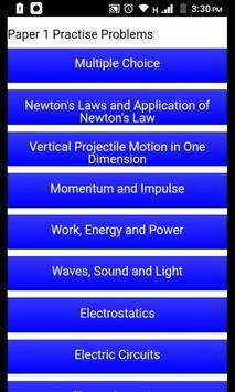 Grade 12 Physical Sciences Mobile Application screenshot 2