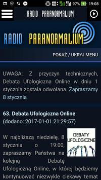 Radio Paranormalium apk screenshot